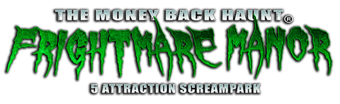 Frightmare Manor - Knoxville Haunted Attraction & Screampark near Johnson City & Bristol